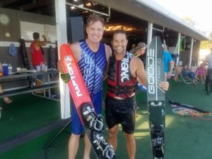 Pro Waterskier Todd Lutes and Michael Todd