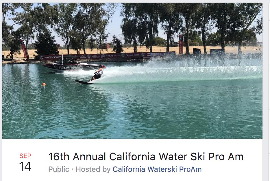 water ski pro am 2018